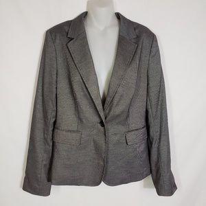 Banana Republic Blazer Jacket 1 Button Lined Pleat